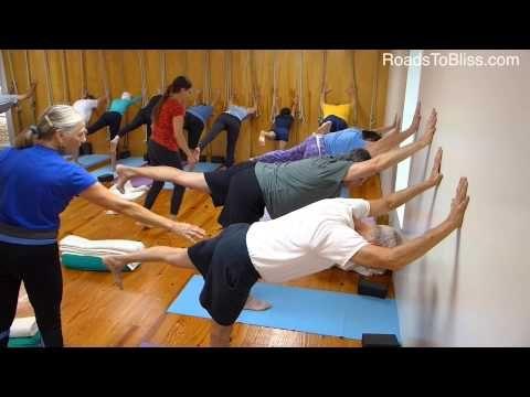 A 50 Iyengar Yoga Class Lois Steinberg S Perspective Iyengar Yoga Yoga For Seniors Yoga Therapy