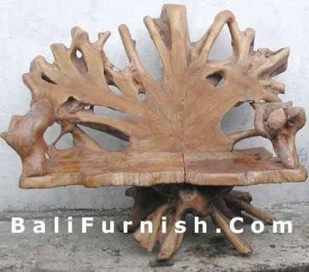 Great Online Catalog Indonesian Handmade Products Export Quality Wholesale Price  Teak Root Garden Furniture Java Chair Table