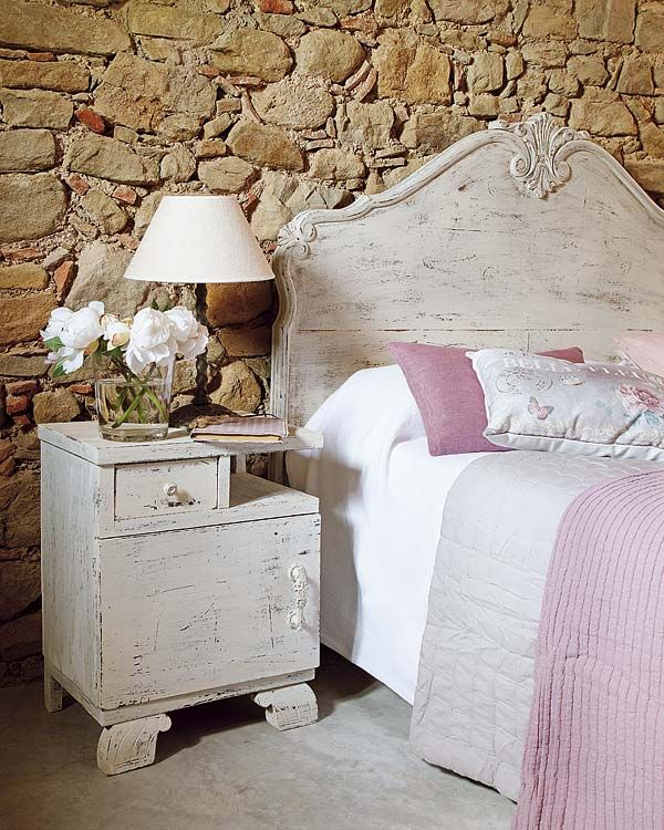 Charming Spanish villa breathes new life Bedrooms, Shabby and Walls