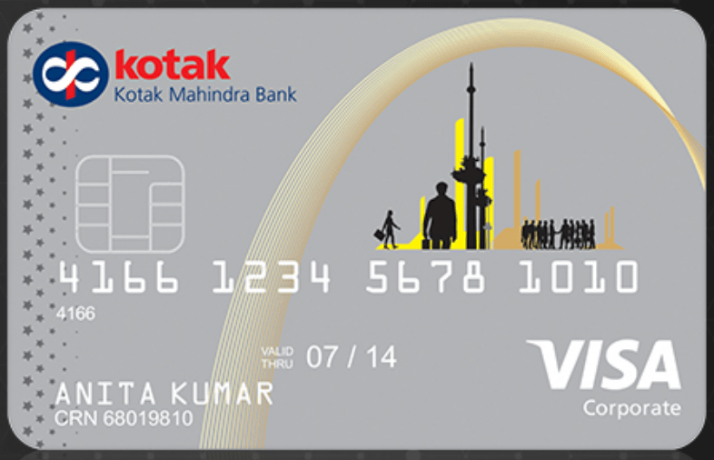 Corporate Gold Credit Card, is issued by Kotak Bank. It