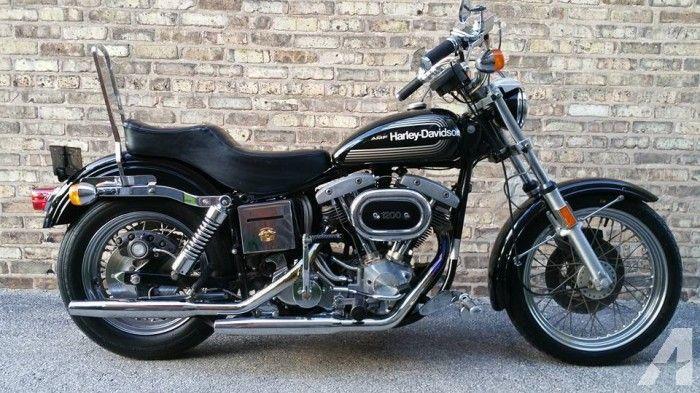 1976 Harley Davidson Superglide FXE 1200 AMF