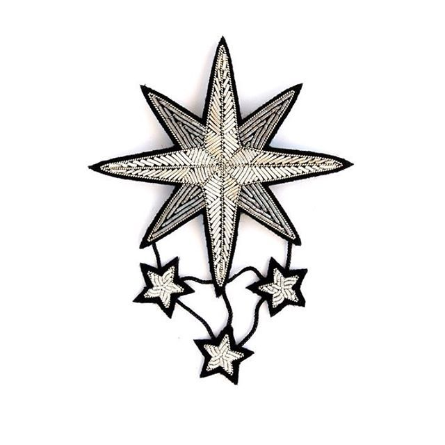 293 отметок «Нравится», 7 комментариев — Macon&Lesquoy (@maconetlesquoy) в Instagram: «Follow it. #star #northstar #silverstar #ski #skisuisse #brooch #handembroidered #maconlesquoy…»