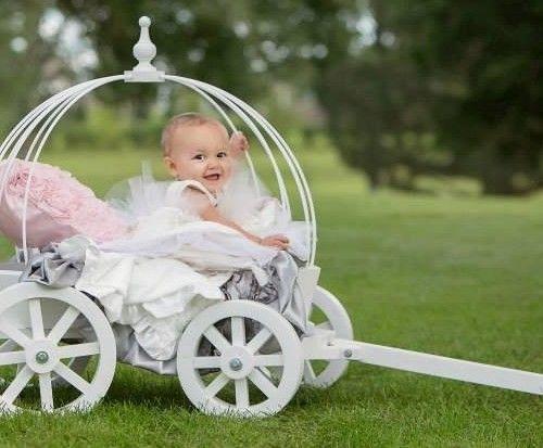 Small Angel Carriage – Mini Wedding Wagons. Every little princess ...