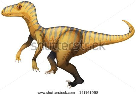 stock-vector-illustration-of-a-velociraptor-141161998.jpg (450×318)