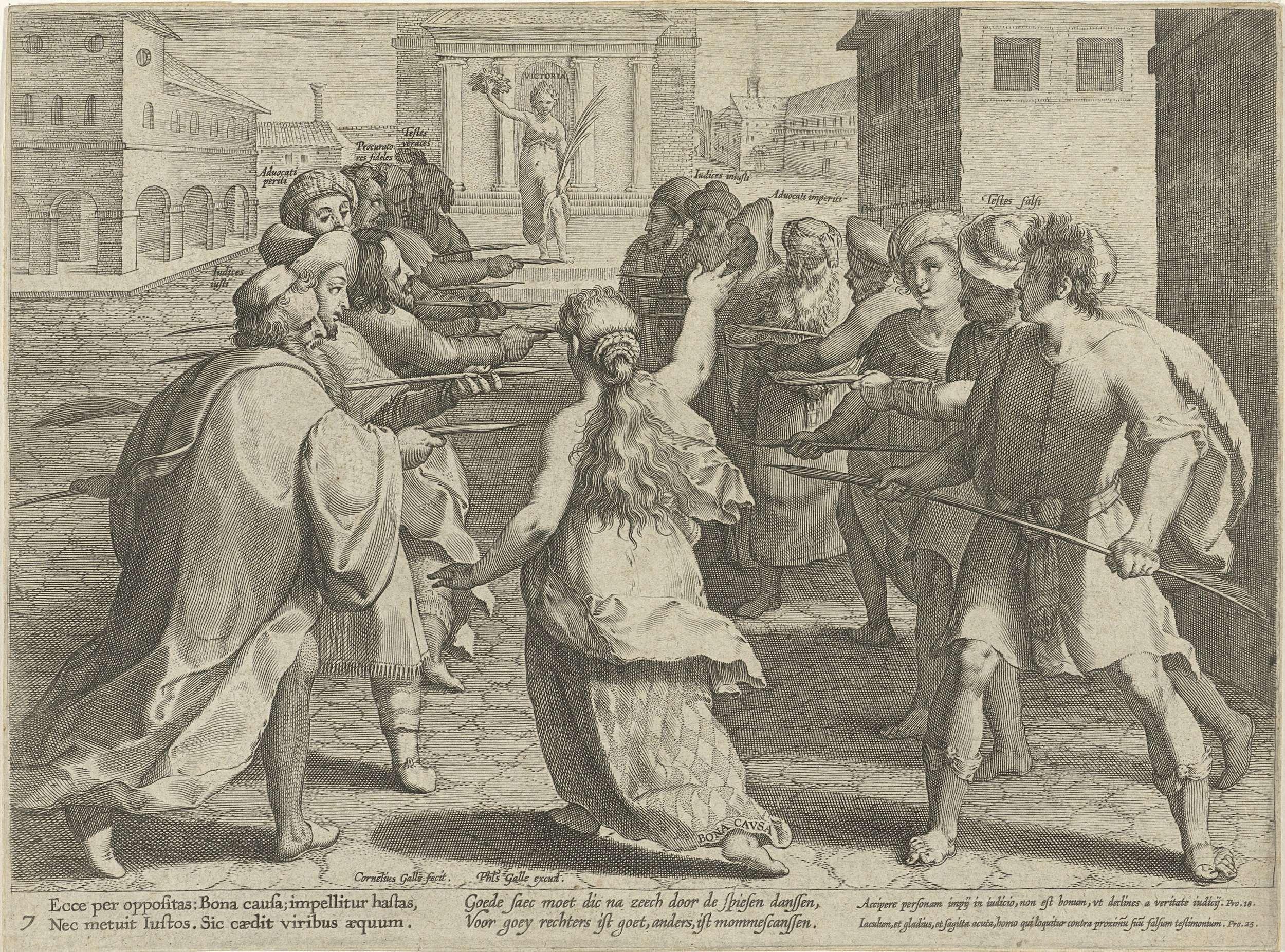 Cornelis Galle I Gevaren Van Het Proces Cornelis Galle