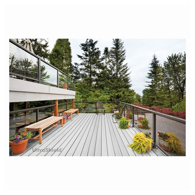planche pour terrasse ultrashield gris mirage. Black Bedroom Furniture Sets. Home Design Ideas