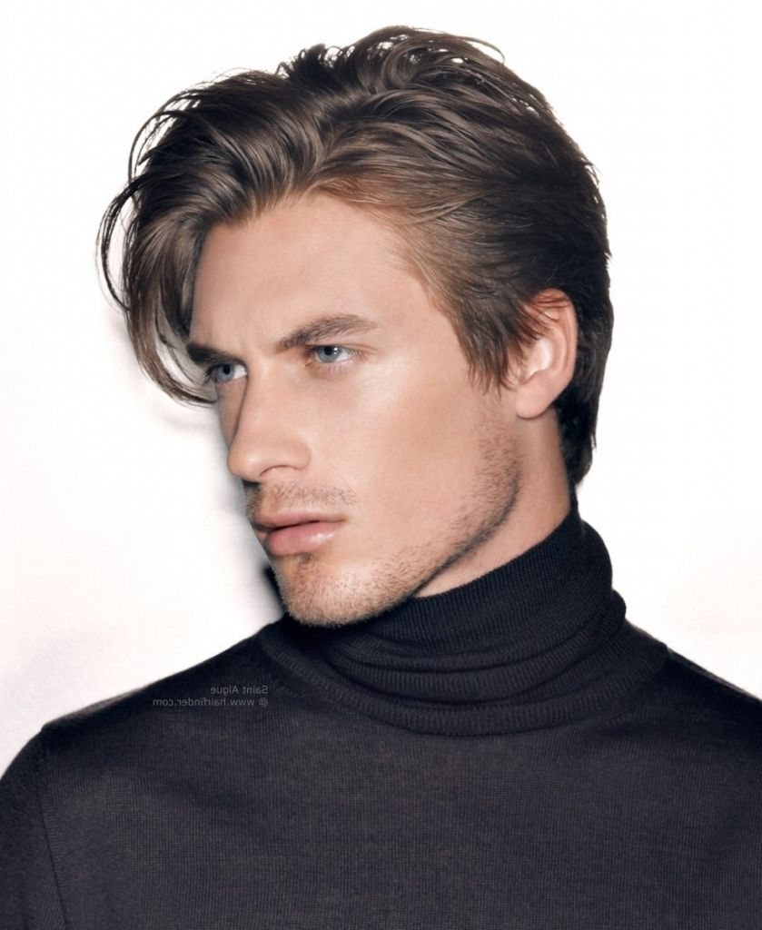 Sexy medium length haircuts for men