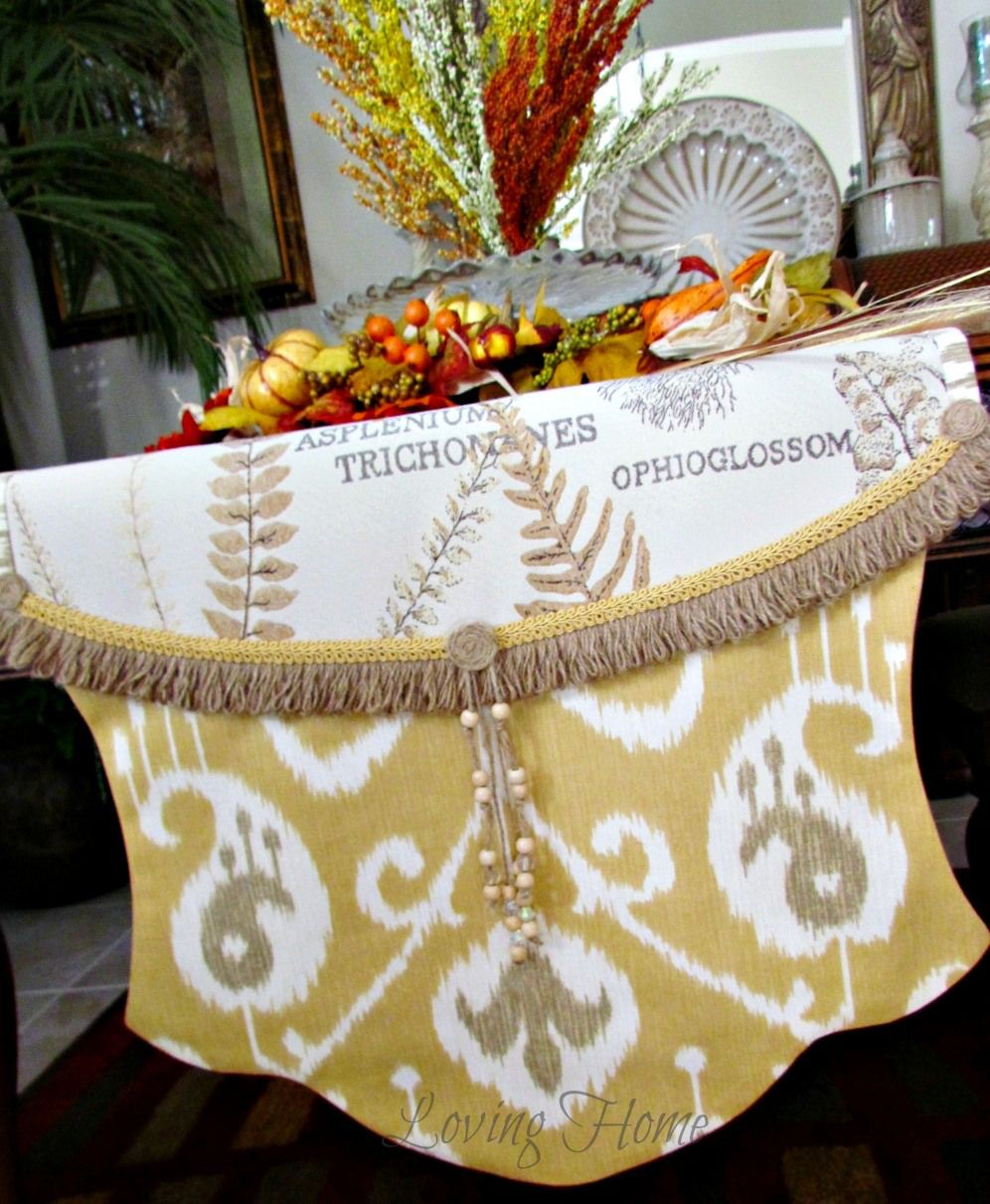 Fall Harvest Table Runner