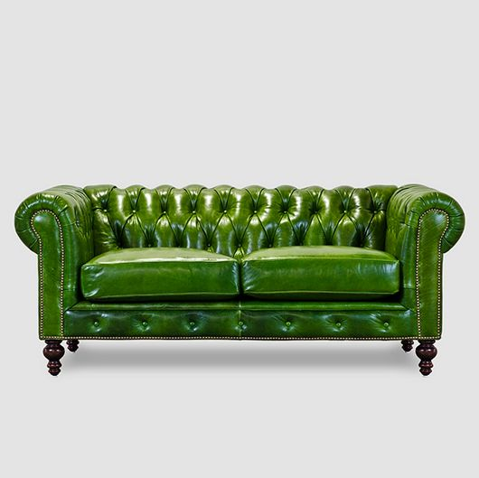 Meet Roger Chris With Images Green Chesterfield Sofa Green