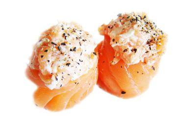 Jojo de salmão