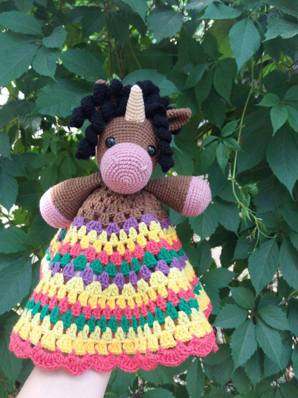 crochet security blanket toy unicorn hand made gift for baby shower, cuddle blanket amigurumi stuffed animal READY TO SHIP #crochetsecurityblanket
