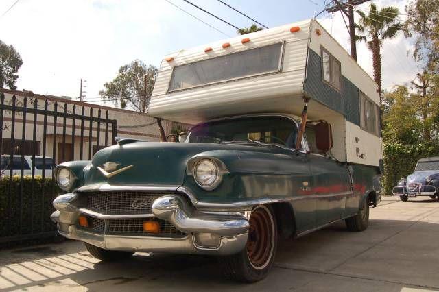 Lloyd's Blog: 1956 Cadillac Sedan DeVille camper for sale
