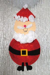 Boy, Oh Boy, Oh Boy!: Kid Craft Friday- Paper Plate Santa
