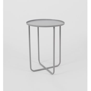 Middle Of Nowhere Ed Side Table Grey :: Collections :: Crate Expectations  :: Gifts U0026 Homewares