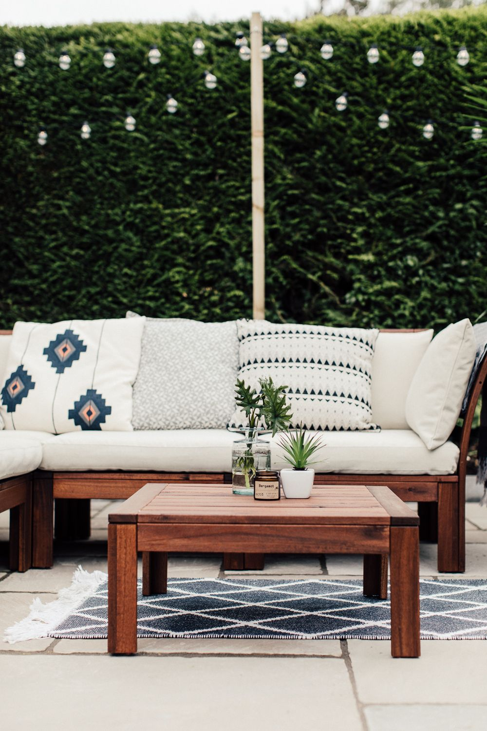 Ikea Küchen Katalog 2016 Pdf A Patio For Lounging - Rock My Style | Uk Daily Lifestyle Blog | Ikea Patio, Ikea Patio Furniture, Outdoor Sofa Design