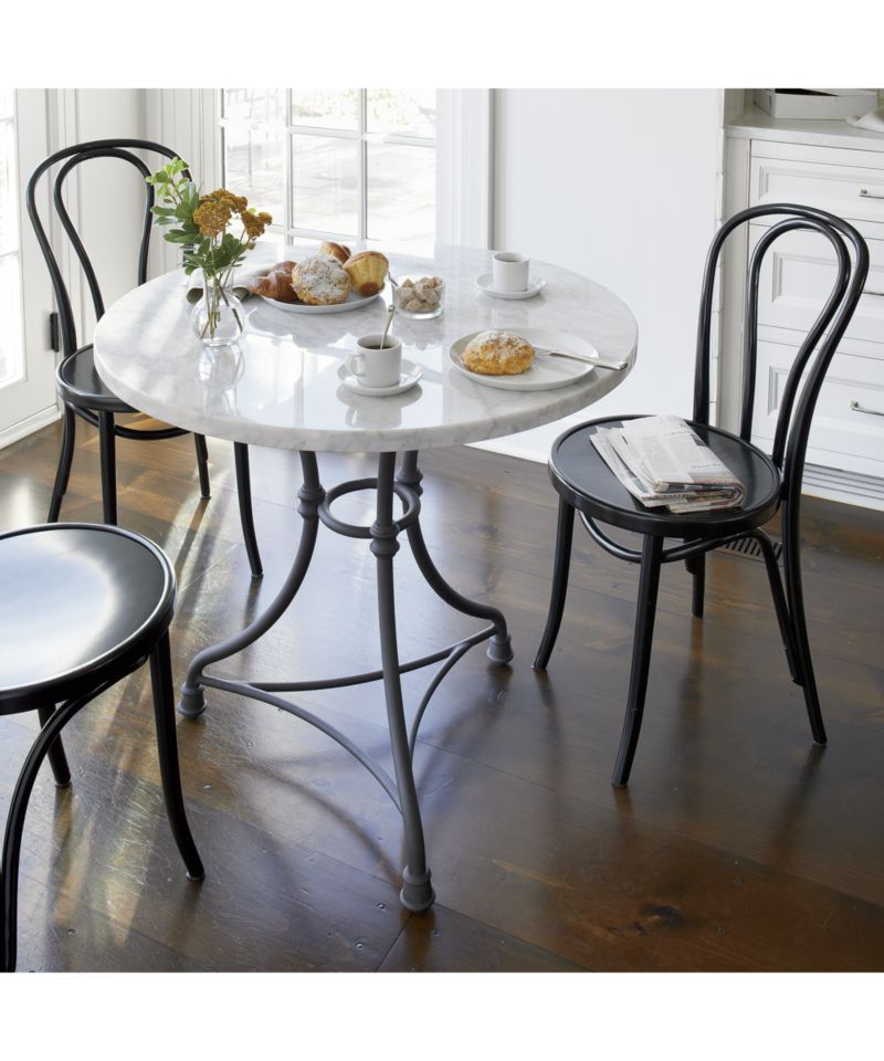 French Kitchen Round Bistro Table | Tables | Bistro kitchen ...