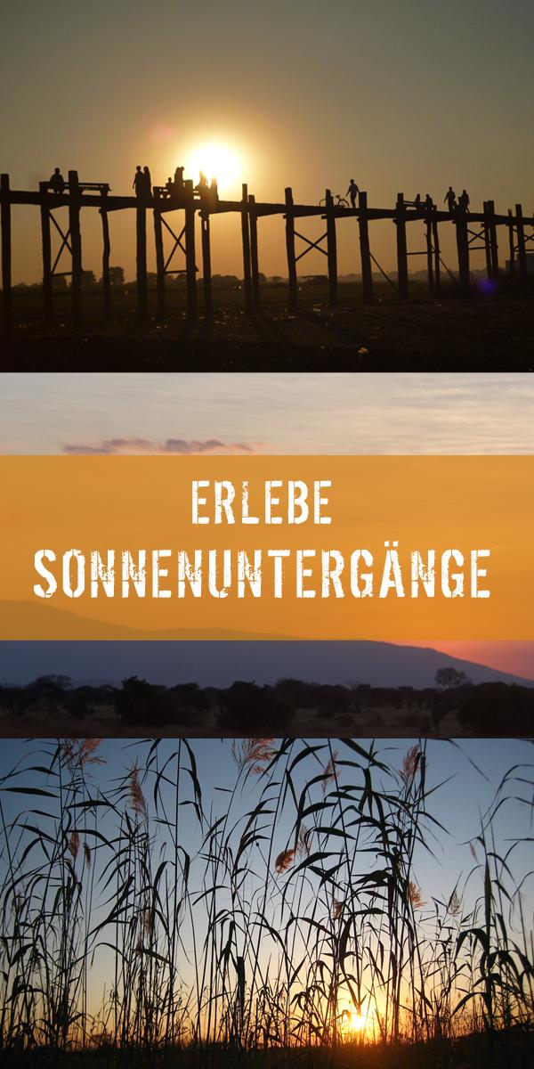 Sonnenaufgänge und Sonnenuntergänge sind immer ein Highlight einer Reise. In dieser Pinnwand findet ihr die schönsten Bilder, die unsere Reisespezialisten erleben konnten.  #Sonnenuntergang #Sonnenaufgang #erlebeFernreisen