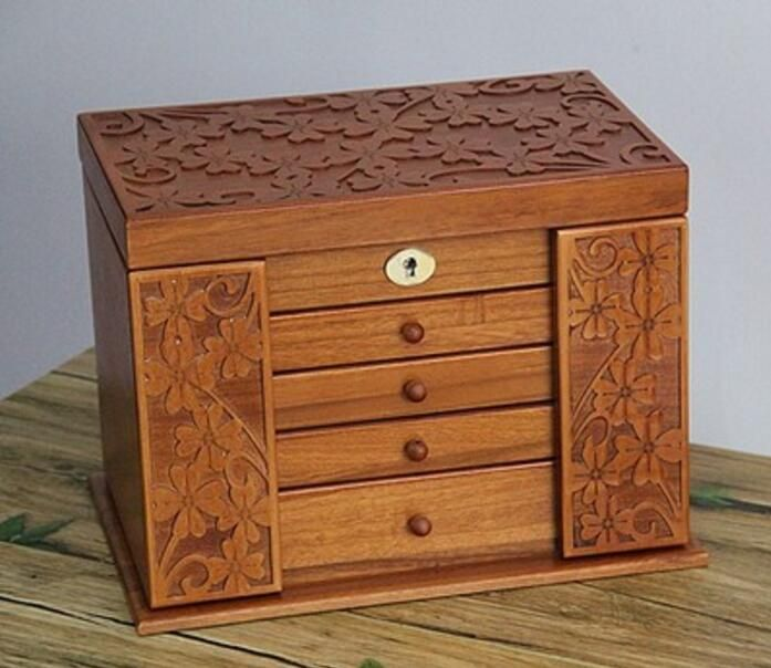Find More Storage Boxes Bins Information about Clover real wood