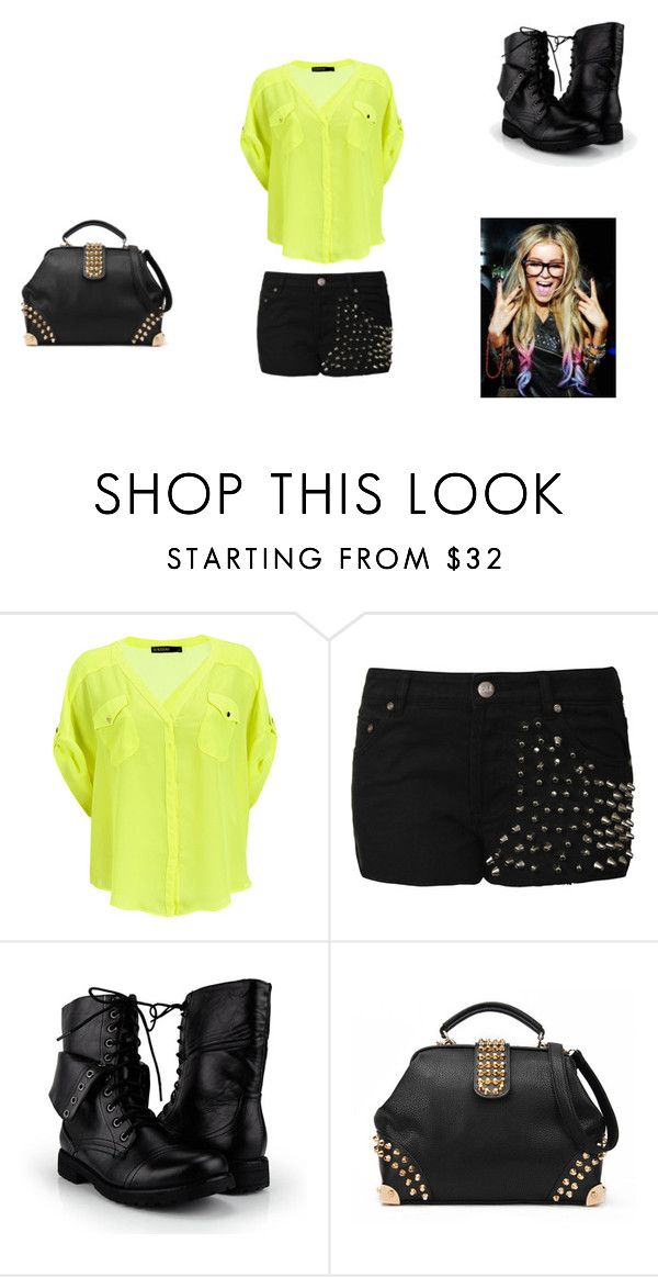 """""""I'm a girl and i'm about to rock your world!"""" by mariianasilva ❤ liked on Polyvore featuring SuperTrash and girl rock cute awesome one direction harry styles"""