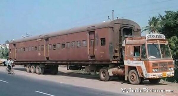 Photo of Indian truck/train