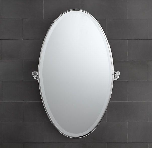 Lugarno Oval Pivot Mirror Mirror Restoration Oval Mirror