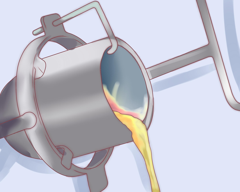 Build a Metal Melting Furnace for Casting SCA Pinterest