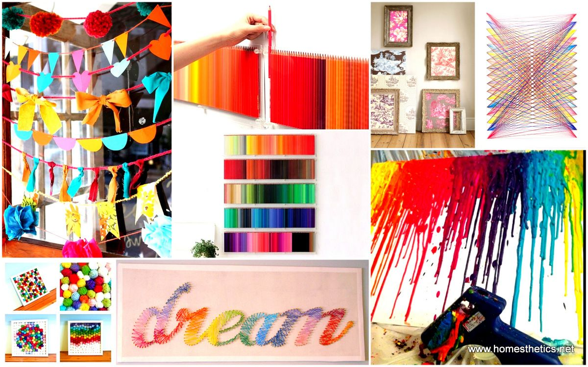 Simple And Yet Spectacular Diy Wall Art Projects Stand Before You Ready To Beautify Your Home In A Manner Piece By Step Can