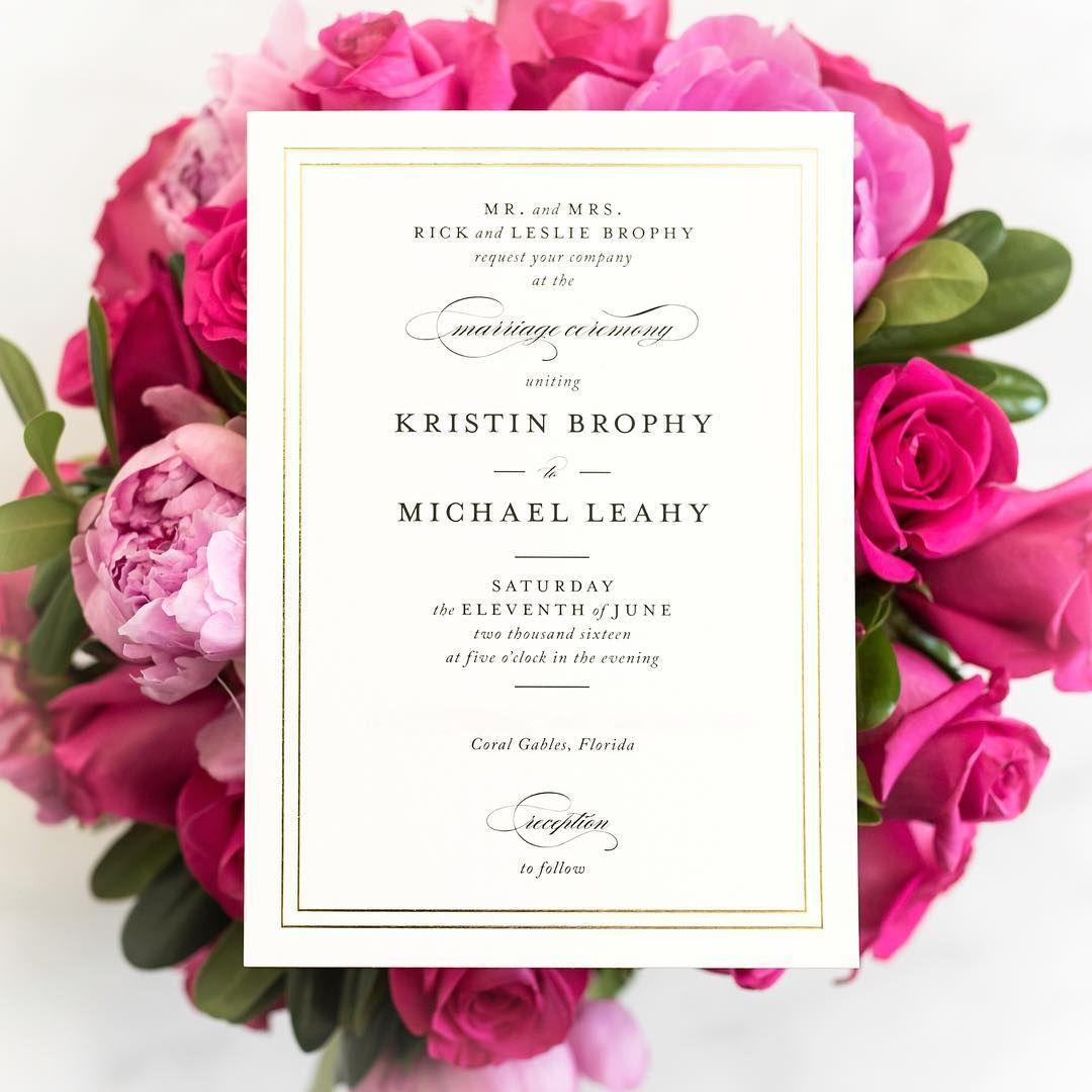 Black Tie Wedding Invitation Wording: Wedding Invitations