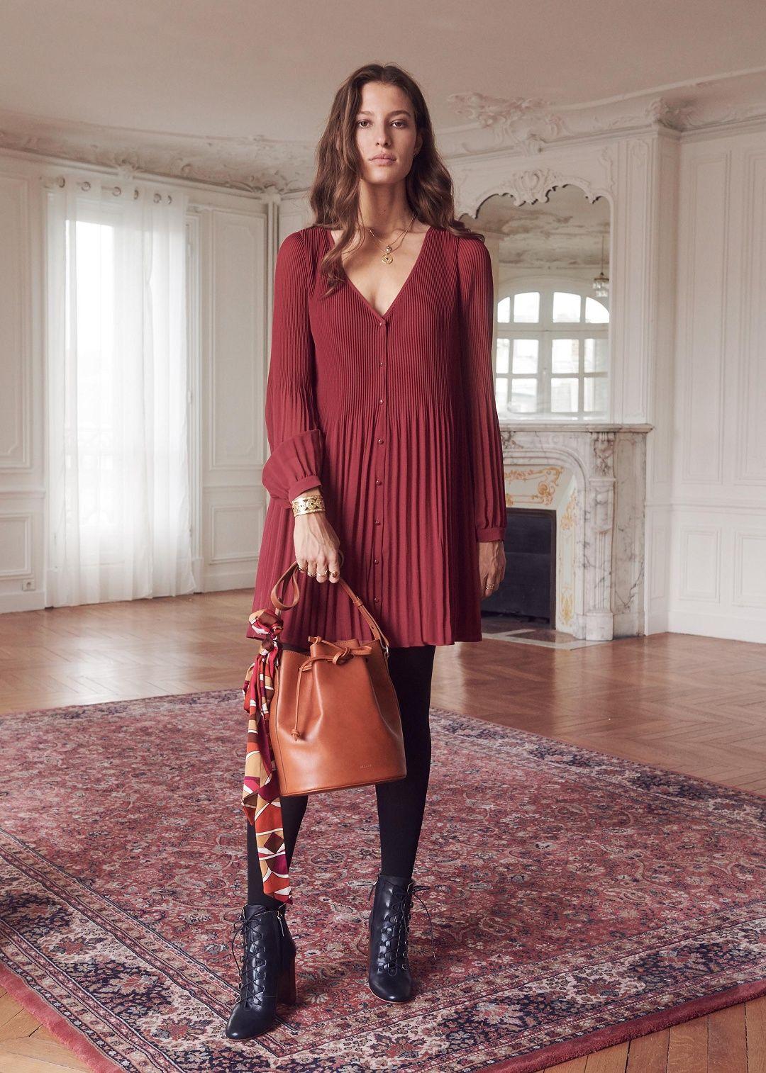 78eadd9104481b Sézane - Louisette dress | Wear it en 2019 | Sezane, Mode femme et ...