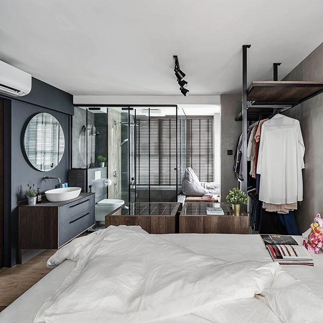 Qanvast Renovation Platform Qanvast Instagram Photos And Videos In 2020 Open Concept Bathroom Home Decor Bedroom Home