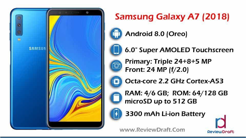 Samsung Galaxy A7 2018 Price In Bangladesh Specification Review Samsung Galaxy Samsung Premium Smartphone