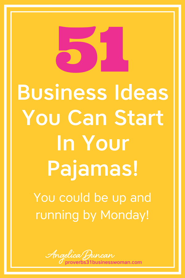business ideas you can start from home in your pajamas blogging