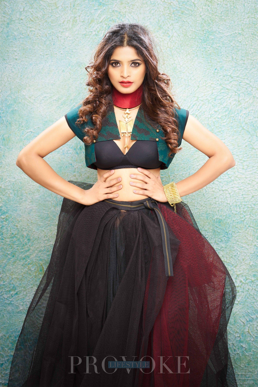 sanchita shetty for #provogue #magazine #hot #sexy #boobs #bra