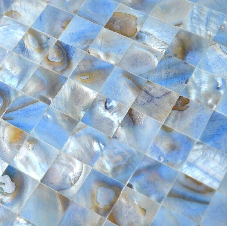 Blue Shell Mosaic Wall Tiles Backsplash Mop086 Mother Of Pearl Tiles Shell Mosaic Bathroom Tiles Mop086 Blue Tile Wall Mosaic Wall Tiles Mosaic Bathroom Tile