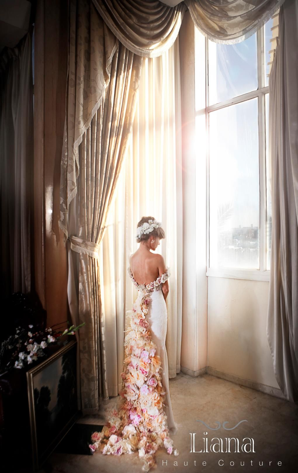 2014 haute couture bridal gowns liana haute couture 2013 2014 bridal collection bellanaija. Black Bedroom Furniture Sets. Home Design Ideas