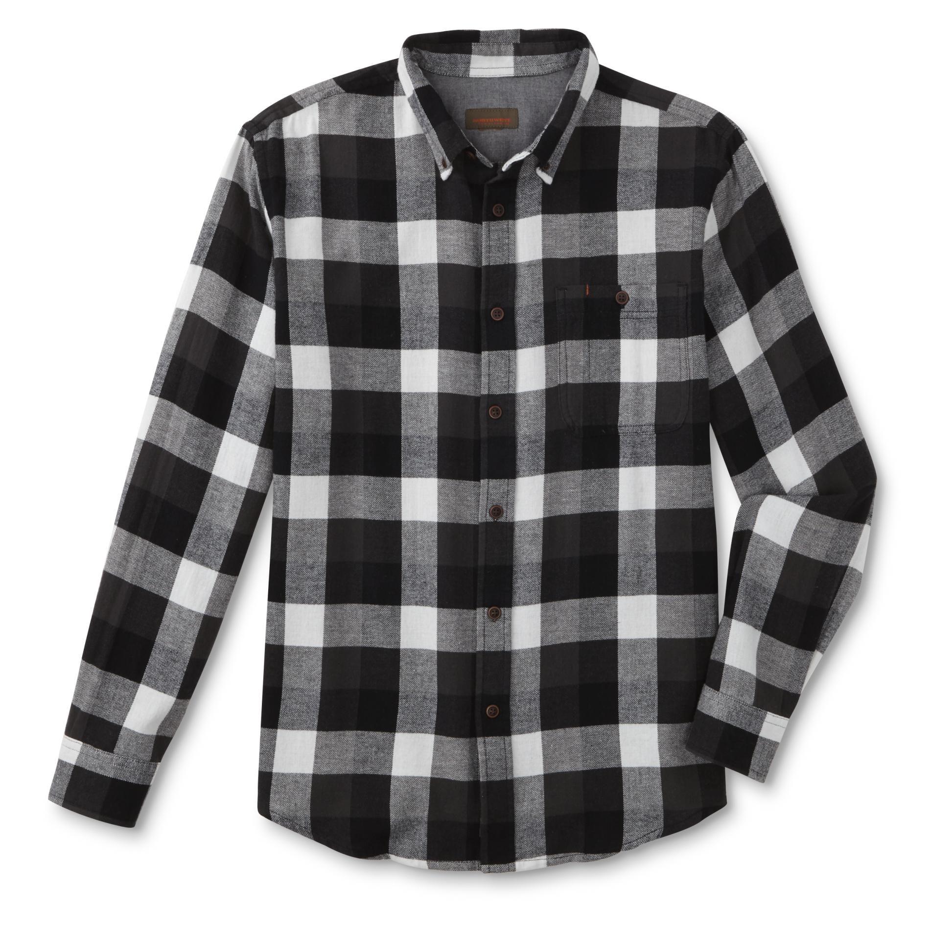 Northwest Territory Men' Big & Tall Flannel Sport Shirt