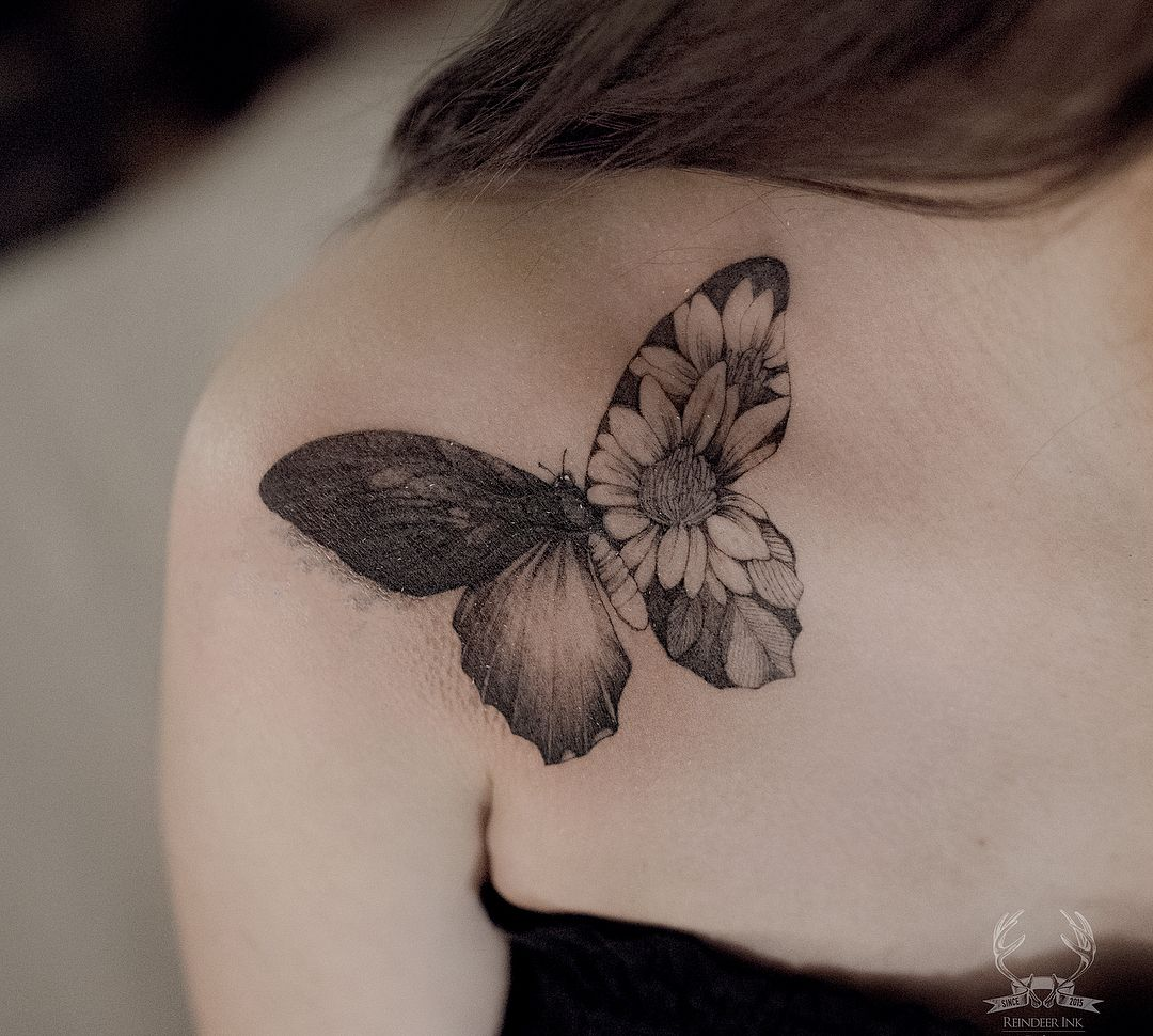 749f92ac8ccce Butterfly Tattoo Meaning and Symbolism - The Wild Tattoo | Tattoo ...