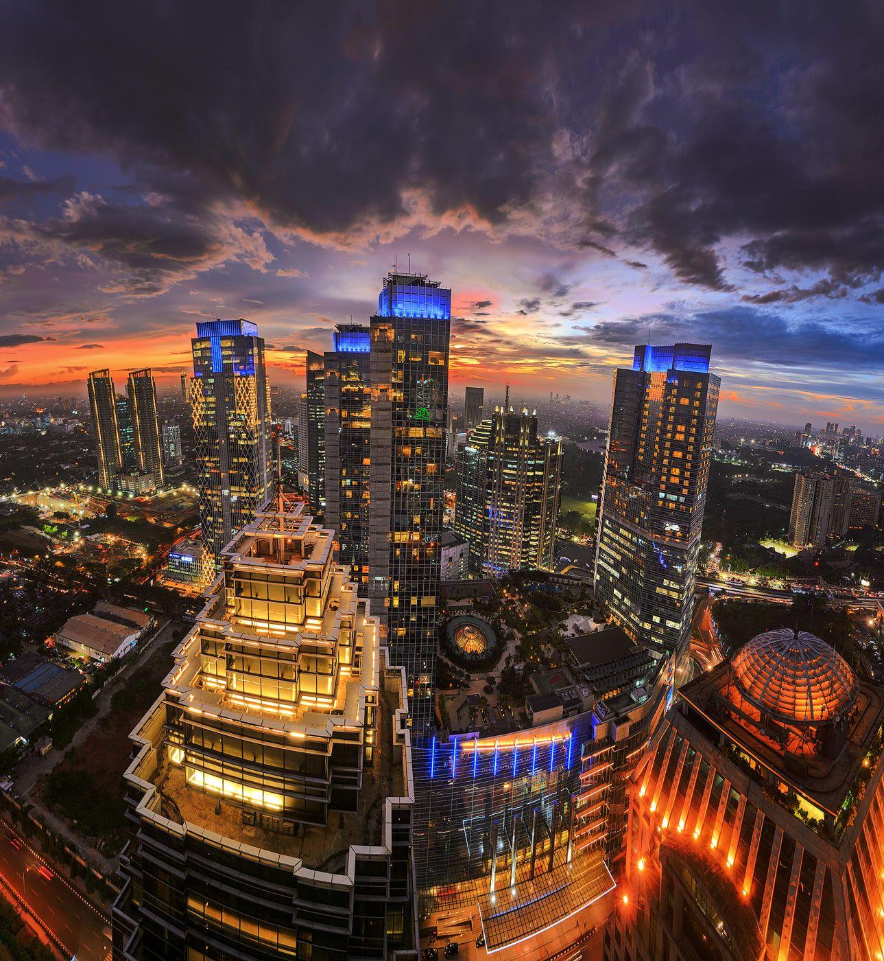 Skyline, Jakarta, City Architecture