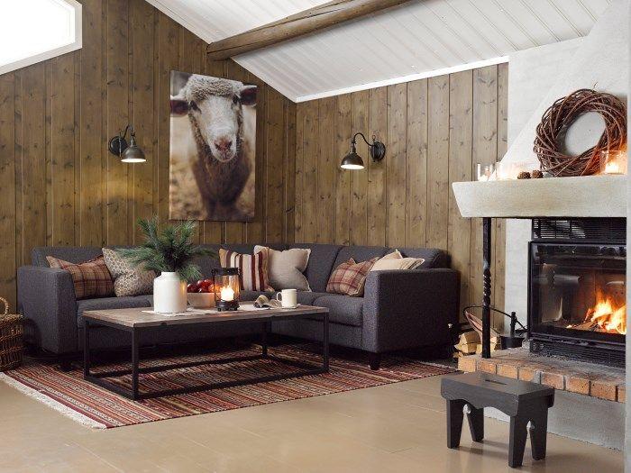Strålende Image result for hytte interiør inspirasjon | Ahşap tavan | Home US-87