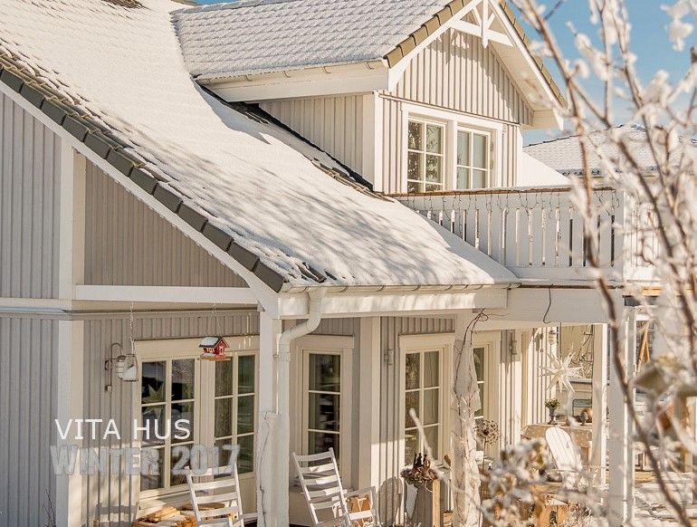 Skandinavisches Wohnen, wohnen in weiss, shabby chic, Schwedenhaus