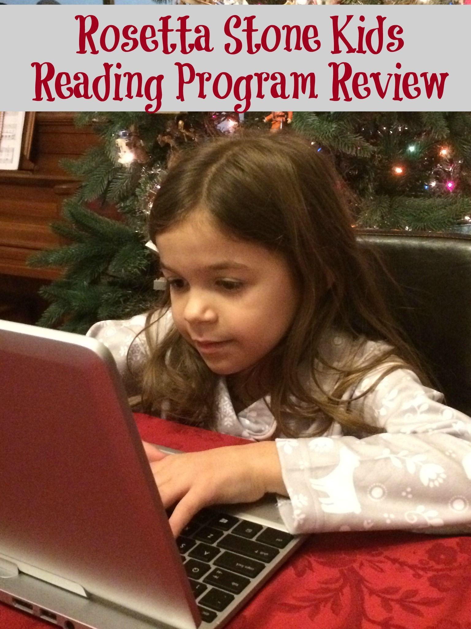 Rosetta Stone Kids Reading Program Review