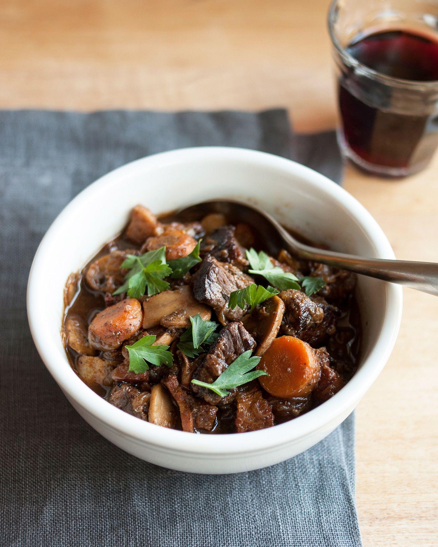 Мясо по бургундски рецепт с фото