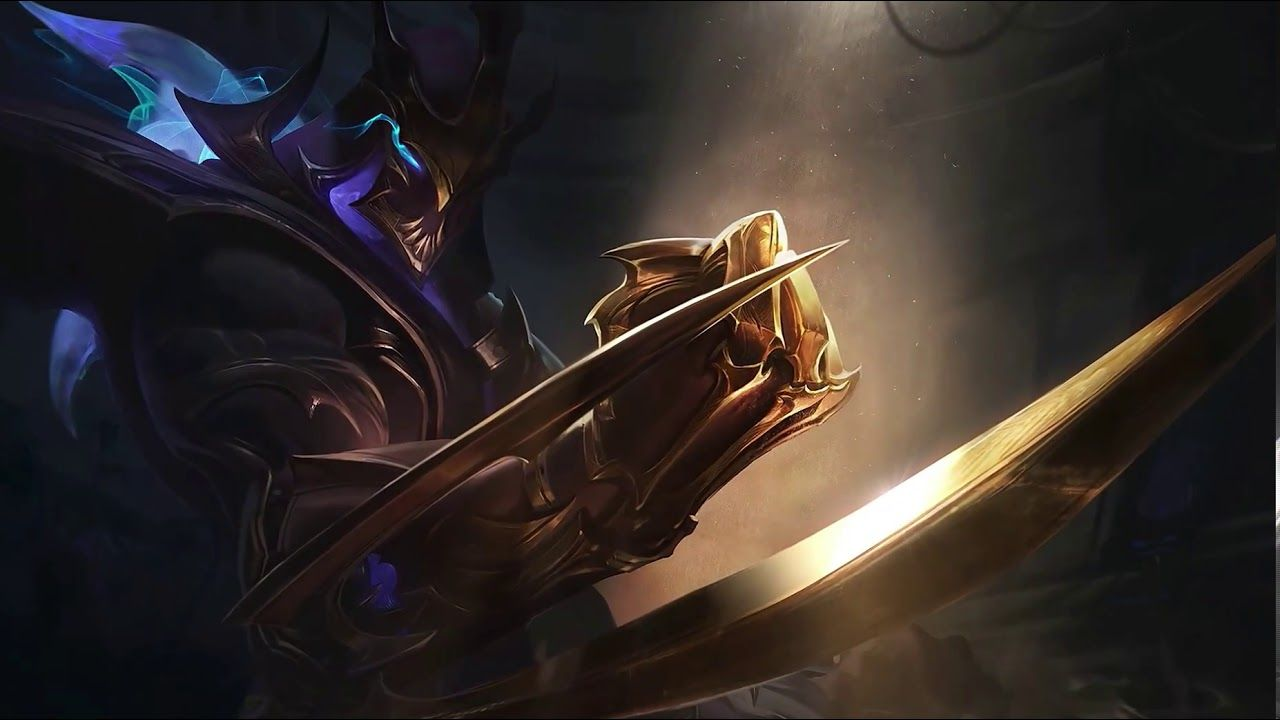 Galaxy Slayer Zed Login Screen League Of Legends Sanat