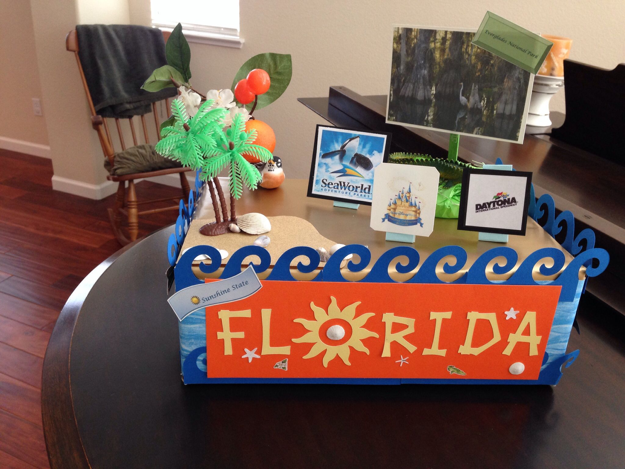 State Float Created With 5th Grade Granddaughter