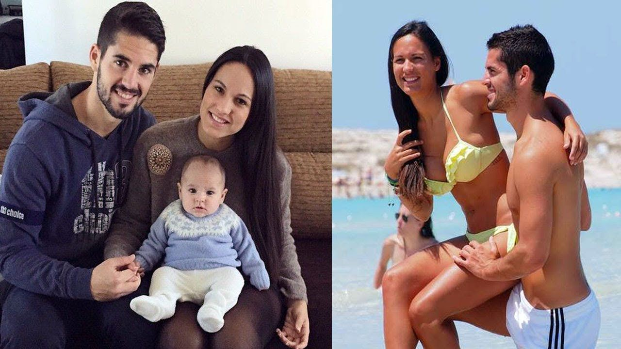 Isco Family Photos With Children And Girlfriend Victoria Calderon 2018 Sports Gallery Famous Sports Sport Player