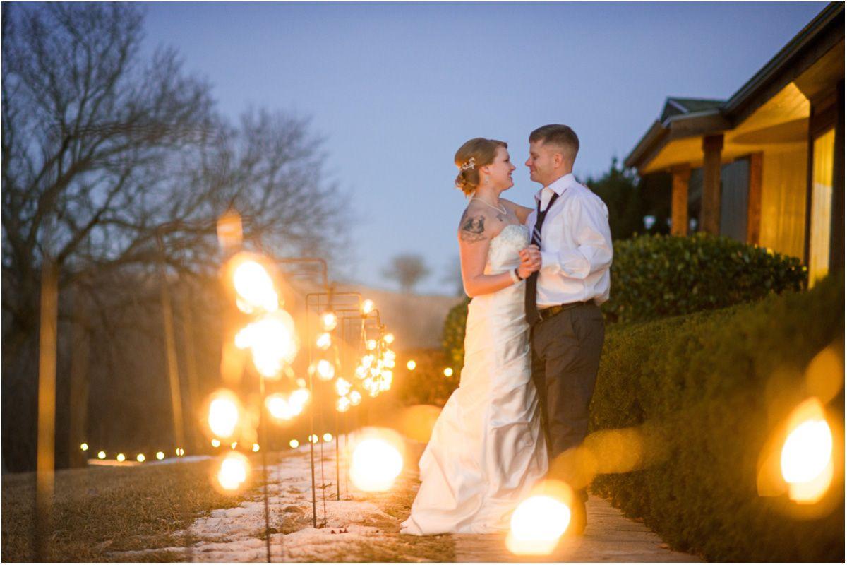 Kansas Winter Wedding Prairiewood Retreat Wedding