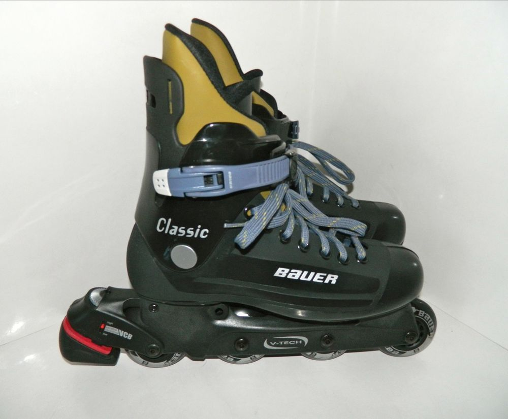 Bauer Classic Inline Roller Hockey Skates Rollerblades Size 9 D Us 42 5 Eur Air Max Sneakers Roller Hockey Skates Unique Items Products