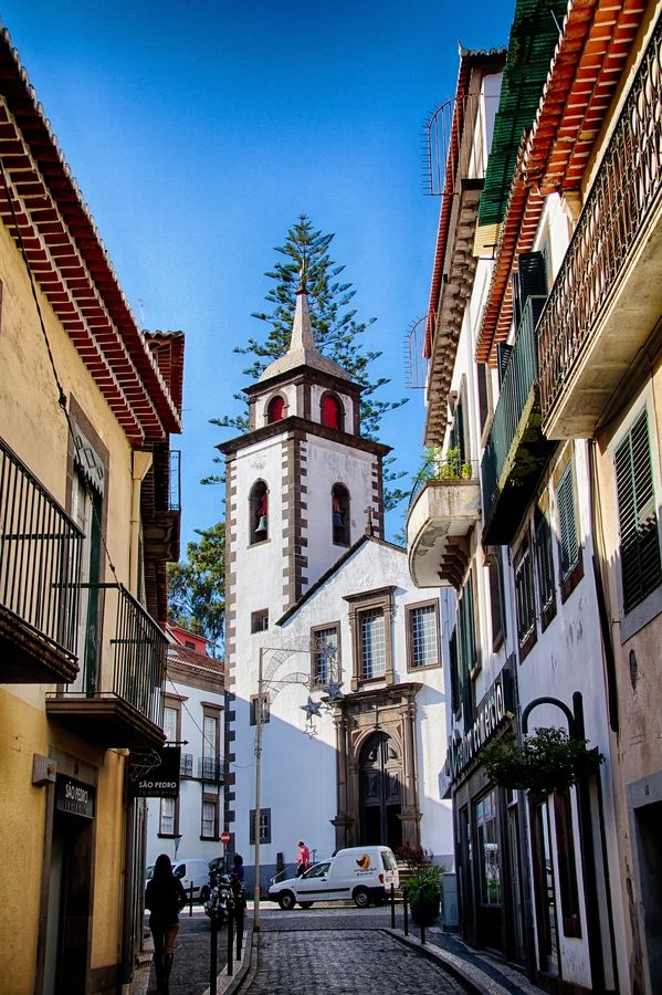Funchal, Madeira, Portugal. The Bachelorette is visiting