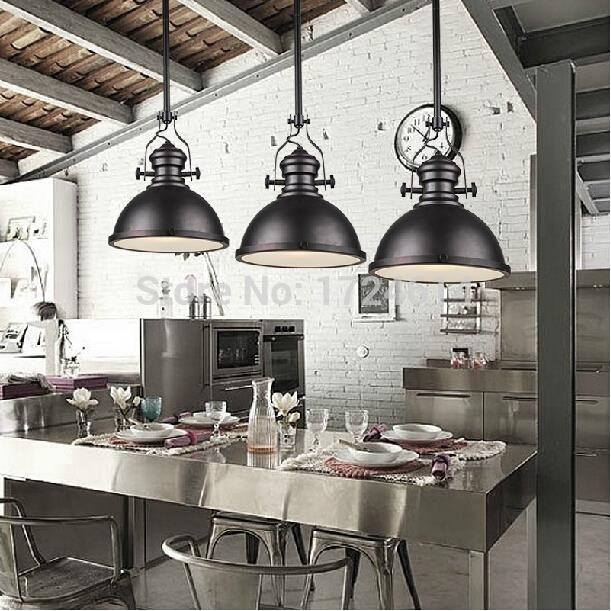 Dia * 32 cm American industrial loft Vintage pendant lights pour