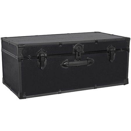 Buy Mercury Luggage Seward Trunk Stackable Storage Footlocker, 30